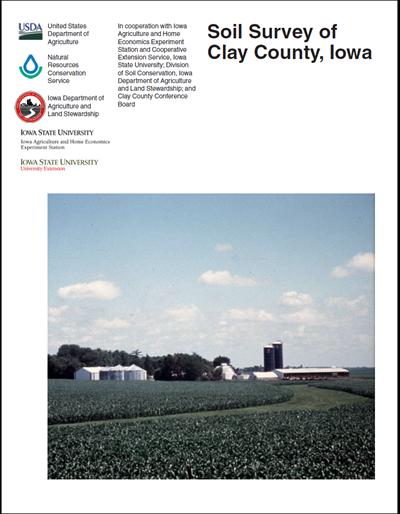 Clay County, Iowa -- Soil Survey Digital Version