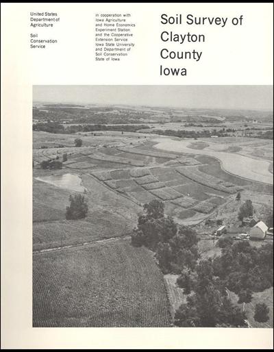 Clayton County, Iowa -- Soil Survey Digital Version
