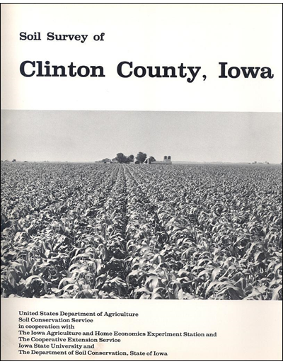 Clinton County, Iowa -- Soil Survey Digital Version