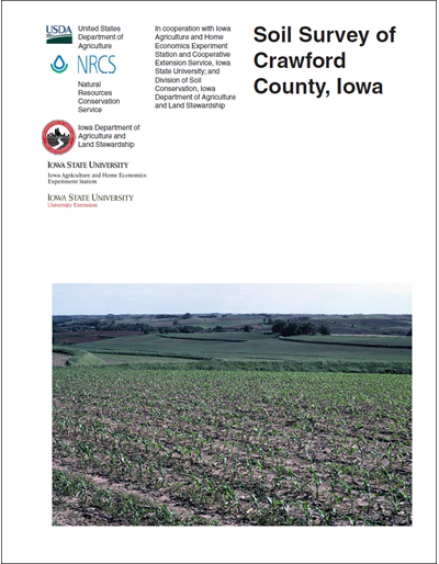 Crawford County, Iowa -- Soil Survey Digital Version