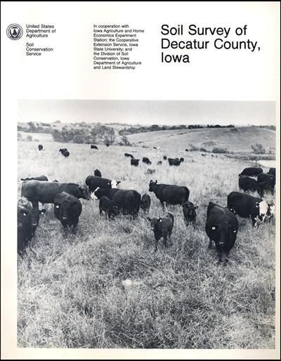 Decatur County, Iowa -- Soil Survey Digital Version