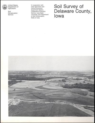 Delaware County, Iowa -- Soil Survey Digital Version