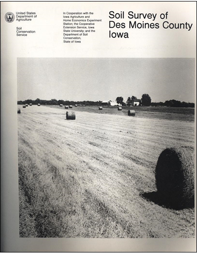 Des Moines County, Iowa -- Soil Survey Digital Version