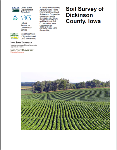 Dickinson County, Iowa -- Soil Survey Digital Version