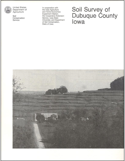 Dubuque County, Iowa -- Soil Survey Digital Version