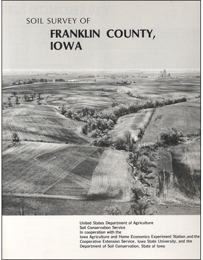 Franklin County, Iowa -- Soil Survey Digital Version
