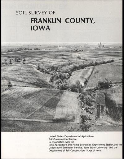 Franklin County, Iowa -- Soil Survey Digital Version