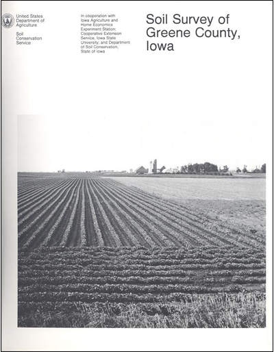 Greene County, Iowa -- Soil Survey Digital Version