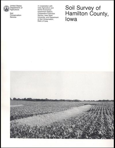 Hamilton County, Iowa -- Soil Survey Digital Version