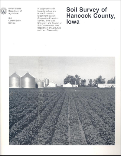 Hancock County, Iowa -- Soil Survey Digital Version