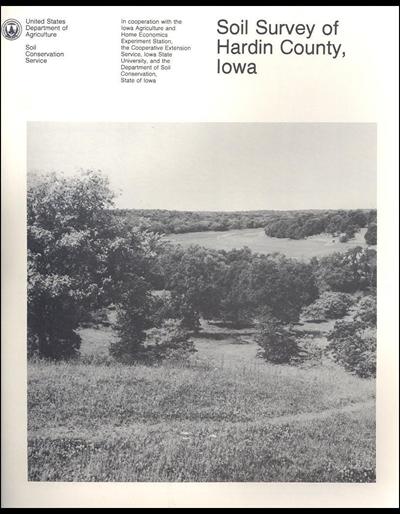 Hardin County, Iowa -- Soil Survey Digital Version