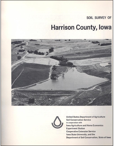 Harrison County, Iowa -- Soil Survey Digital Version
