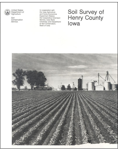 Henry County, Iowa -- Soil Survey Digital Version