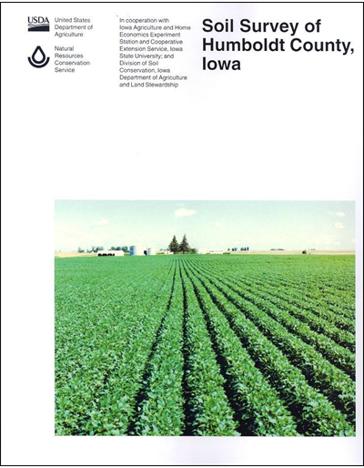 Humboldt County, Iowa -- Soil Survey Digital Version
