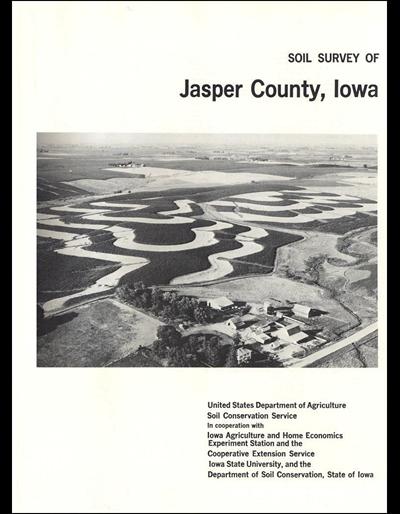 Jasper County, Iowa -- Soil Survey Digital Version
