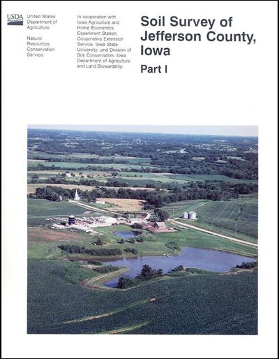 Jefferson County, Iowa -- Soil Survey Digital Version