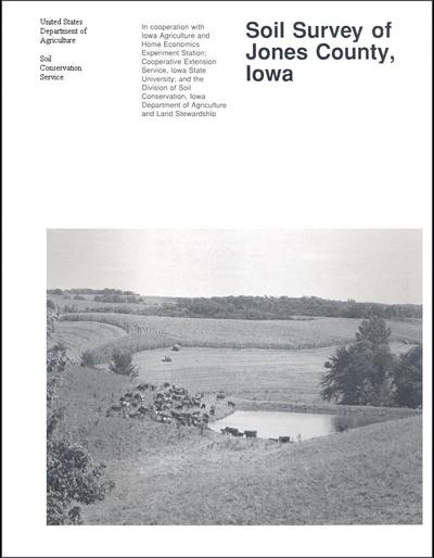 Jones County, Iowa -- Soil Survey Digital Version