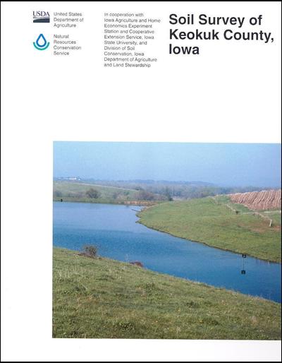 Keokuk County, Iowa -- Soil Survey Digital Version