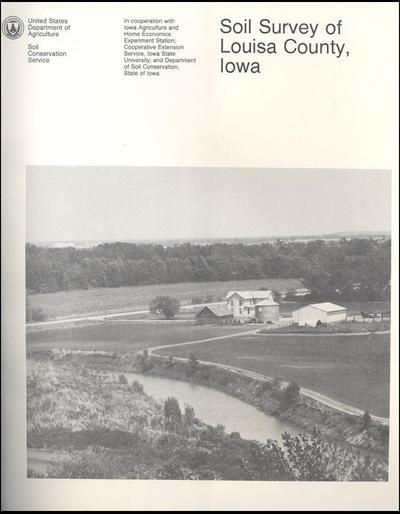 Louisa County, Iowa -- Soil Survey Digital Version