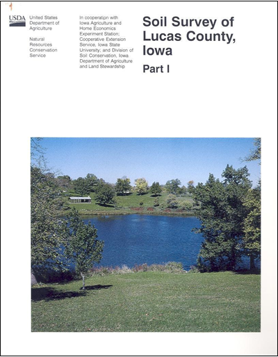 Lucas County, Iowa -- Soil Survey Digital Version