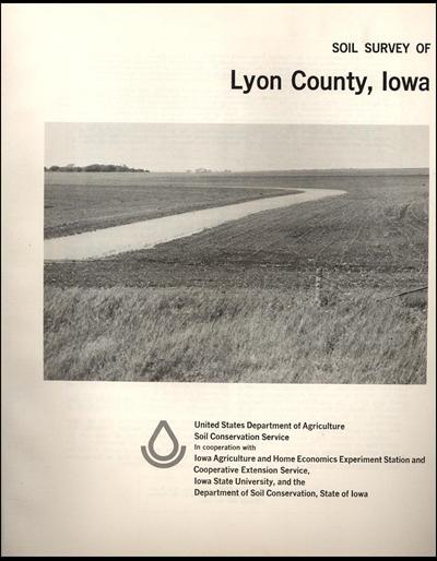 Lyon County, Iowa -- Soil Survey Digital Version