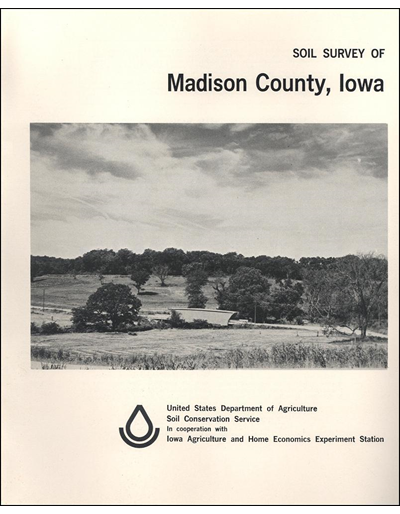 Madison County, Iowa -- Soil Survey Digital Version
