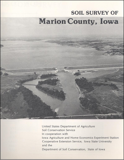 Marion County, Iowa -- Soil Survey Digital Version