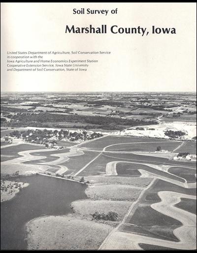 Marshall County, Iowa -- Soil Survey Digital Version