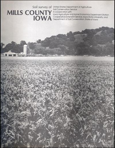 Mills County, Iowa -- Soil Survey Digital Version