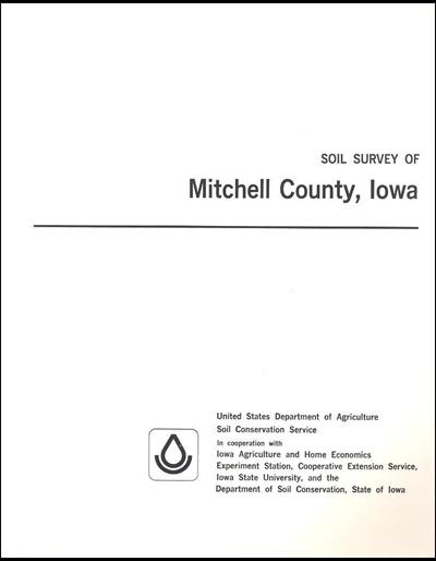 Mitchell County, Iowa -- Soil Survey Digital Version