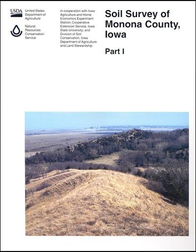 Monona County, Iowa -- Soil Survey Digital Version