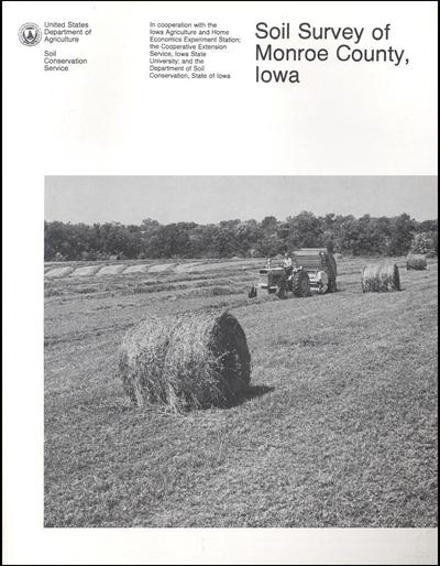 Monroe County, Iowa -- Soil Survey Digital Version