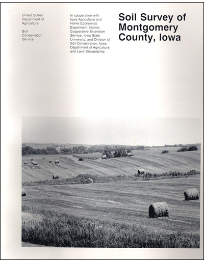 Montgomery County, Iowa -- Soil Survey Digital Version