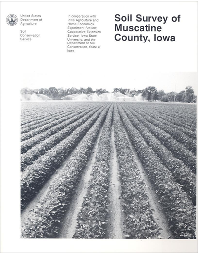 Muscatine County, Iowa -- Soil Survey Digital Version