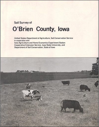 O'Brien County, Iowa -- Soil Survey Digital Version