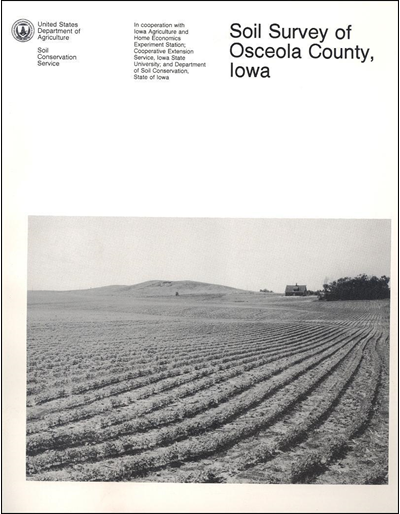 Osceola County, Iowa -- Soil Survey Digital Version