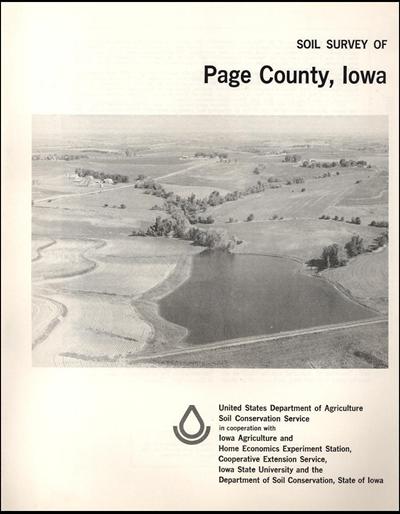 Page County, Iowa -- Soil Survey Digital Version