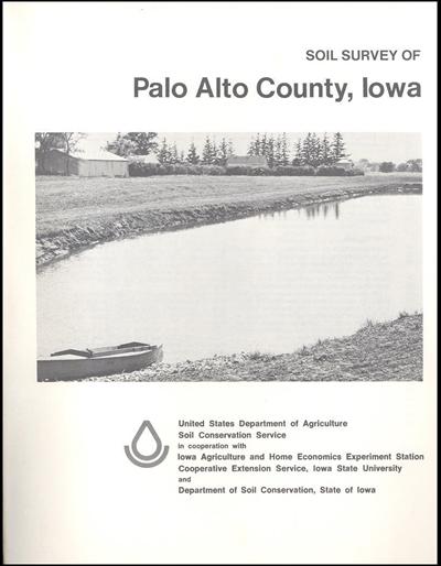 Palo Alto County, Iowa -- Soil Survey Digital Version
