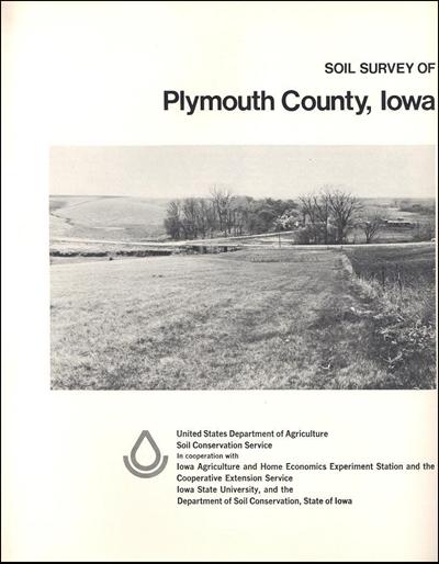 Plymouth County, Iowa -- Soil Survey Digital Version