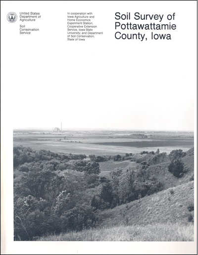 Pottawattamie County, East and West , Iowa -- Soil Survey Digital Version