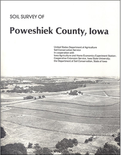 Poweshiek County, Iowa -- Soil Survey Digital Version