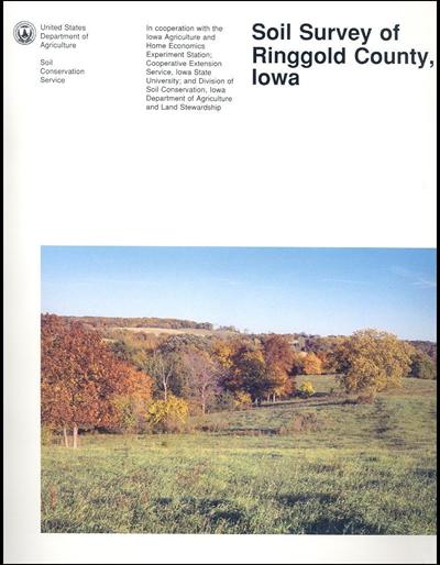 Ringgold County, Iowa -- Soil Survey Digital Version
