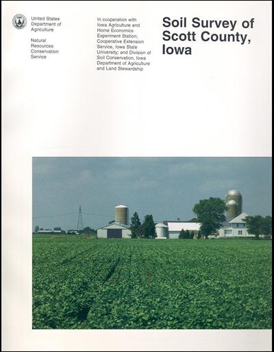 Scott County, Iowa -- Soil Survey Digital Version