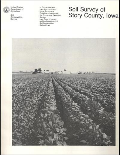 Story County, Iowa -- Soil Survey Digital Version