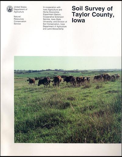 Taylor County, Iowa -- Soil Survey Digital Version