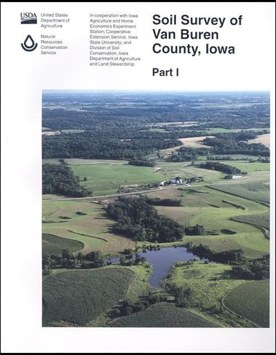 Van Buren County, Iowa -- Soil Survey Digital Version