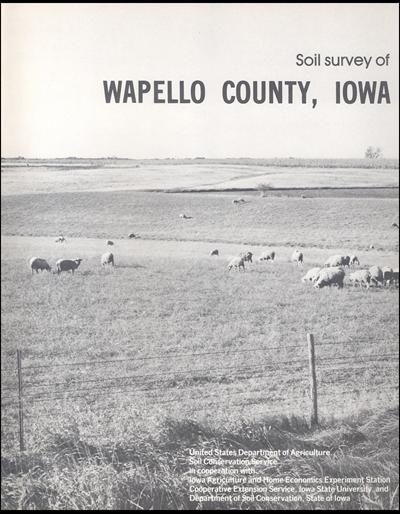 Wapello County, Iowa -- Soil Survey Digital Version