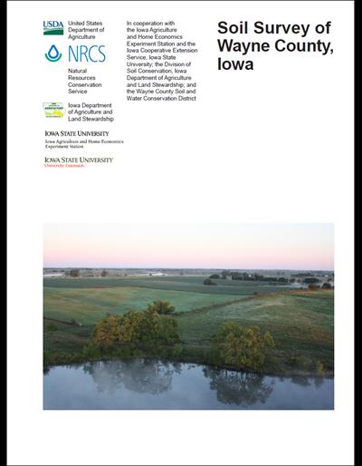 Wayne County, Iowa -- Soil Survey Digital Version