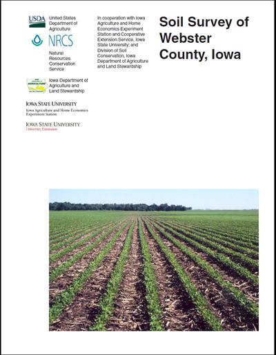 Webster County, Iowa -- Soil Survey Digital Version
