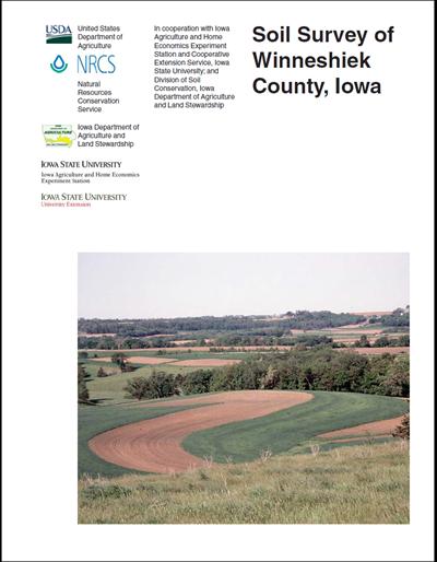 Winneshiek County, Iowa -- Soil Survey Digital Version